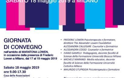 """""""Maratona Lowen"""" il 17/18/19 maggio 2019, Milano"""