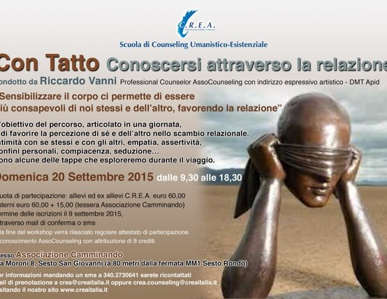 "20/09/2015 – Workshop ""CON TATTO"""